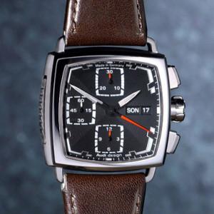 Audi Design Square Chrono watch Sinn ジン アウディ デザイン スクエア クロノグラフ 腕時計